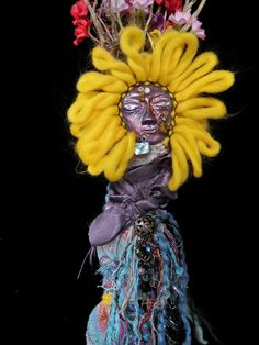 OneofaKind Healing Spirit Doll Shining Sun God of by JoyfulEssence, $74.99 Artist Lili McGovern