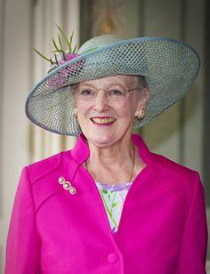Queen Margrethe, June 25, 2013 | The Royal Hats Blog