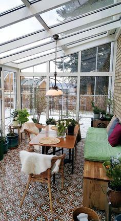 Gazebos, Brick Patterns Patio, Glass Balcony, Balcony Design, Balcony Ideas, Garden Design, Glass House, Winter Garden, Sunroom
