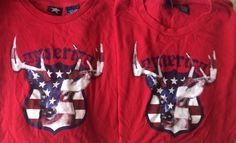 Matching July 4th Patriotic America US Flag Red White Blue T Shirts XL 2XL | eBay