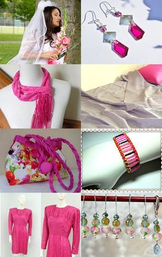 think pink by Beth Byrd on Etsy--Pinned with TreasuryPin.com