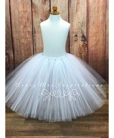 626c7adeab White Tutu Skirt ANY SIZE, Girls, Ladies, Babies, Woman's, Infant, Toddler,  Adult, Bachelorette, Flower Girl, Dance Costume, Ballerina Skirt