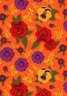 Print tecido Ana Morelli Color Home Design