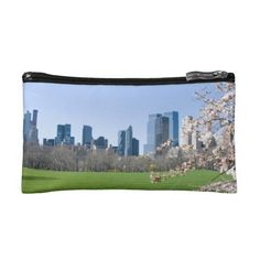 Central Park in Spring, New York. A Cosmetics Bag for that special woman in your lift. #gift #cosmetics #makeup #woman #centralpark #spring
