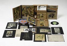 Marcel Duchamp. Boîte-en-valise (de ou par Marcel Duchamp ou Rrose Selavy). 1935/41.