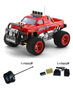 Toy Blaze Truck Red Car Boy Radio Remote Control Rechargeable Toys Gift  #Lutema
