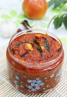 andhra tomato pickle recipe with step by step photos. we call this as nilava tomato pachadi, not a traditional one but a quick recipe to makes yummy pickle