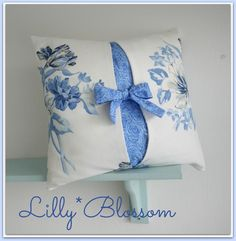 Bow Tied Pillow Cover by Lillyblossom | Sewing Pattern - Looking for your next project? You're going to love Bow Tied Pillow Cover by designer Lillyblossom. - via @Craftsy