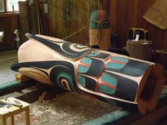 The largest collection of Native American totem poles in the world is in Ketchikan Alaska