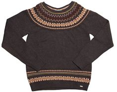 Gorgeous chocolate knit ideal for wearing on the weekend or with your favourite pair of jeans. www.essentials.co.za