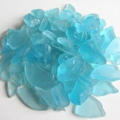 Turquoise Sea Glass For Wedding Crafts Beach House Decor