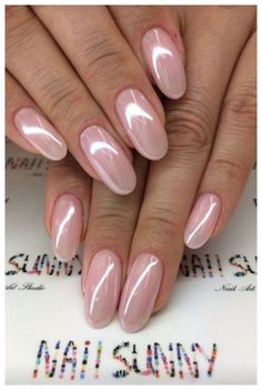 Bries Hochzeit - Rezepte - french tip nails Gradiant Nails, Long Nails, My Nails, Fingernails Painted, Crome Nails, Pearl Nails, Wedding Nails Design, Wedding Manicure, Manicure E Pedicure