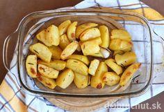 Fotorecept: Chrumkavé zemiaky s cesnakom a rozmarínom