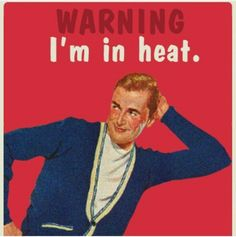 WARNING: I'm In Heat.