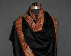 Cashmere Pashmina, Pashmina Shawl, Kashmiri Shawls, Anniversary Sale, Pure Products, Embroidery, Shopping, Color, Etsy