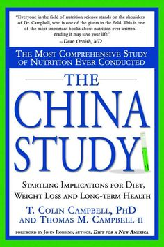 The China Study book review. Find out what it's all about