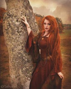 396 Likes, 12 Comments - Portrait Beltane, Long Red Hair, Gorgeous Redhead, Ginger Girls, Fantasy Photography, Witch Aesthetic, Redhead Girl, Ginger Hair, Pretty People
