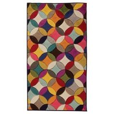 Buy Jazz Carousel Rug - 160x230cm - Multicoloured at Argos.co.uk, visit Argos.co.uk to shop online for Rugs and mats