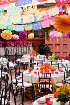 fiesta party room