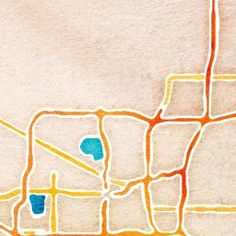 Cool site printing maps in different styles.