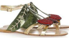 Cherry Sandals by Miu Miu
