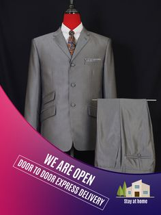 Wedding Men, Wedding Suits, Suit Fashion, Mens Fashion, 1960s Mod Fashion, Mod Clothing, Mod Suits, Modcloth, Delivery
