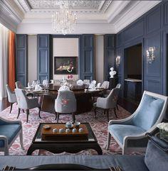 The Castle Hotel, Dalian Hba Design, Design Blog, Design Hotel, Restaurant Design, Restaurant Lighting, Chinese Restaurant, Classic Interior, Best Interior Design, Luxury Interior