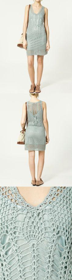 Zara - Vestidos de Crochet.