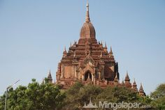 Beautiful temple in Myanmar