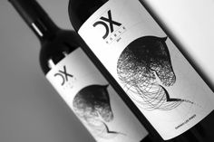 DX Wine Label on Packaging of the World - Creative Package Design Gallery