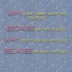 I love anti jokes