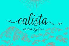 Calista Script (60% Off) by vero. on @creativemarket