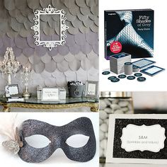 Fifty Shades of Grey themed Bachelorette Party