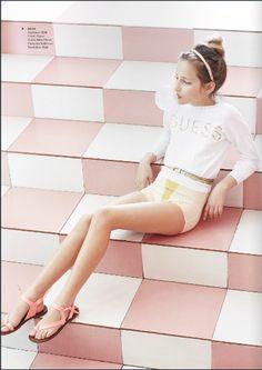 Photo by Noemí de la Peña. Model Julia Mayer Agency : Sugar Kids