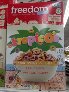 Found allergy free cereal at Meijer!