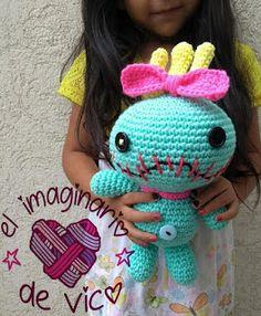 Mesmerizing Crochet an Amigurumi Rabbit Ideas. Lovely Crochet an Amigurumi Rabbit Ideas. Disney Crochet Patterns, Crochet Animal Patterns, Crochet Patterns Amigurumi, Crochet Designs, Crochet Dolls, Crochet Doll Tutorial, Crochet 101, Crochet Cross, Love Crochet