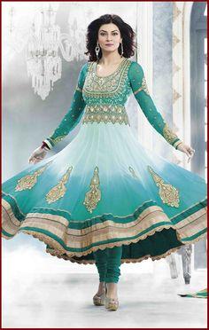Latest Indian Designer Anarkali Suits