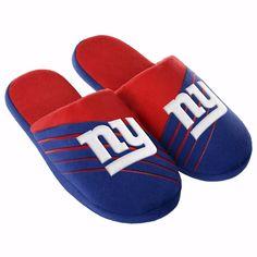 New York Giants Official Licensed NFL Football Mens Big Logo Slide Slippers - All Sizes