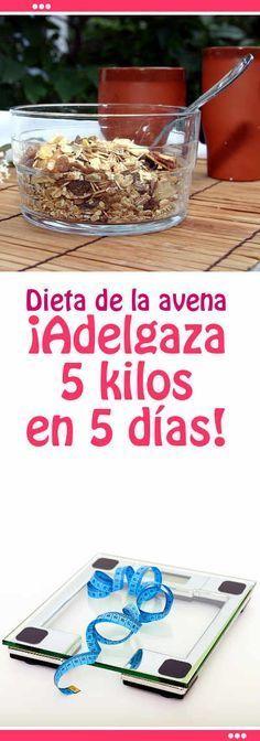 Dieta de la avena. ¡Adelgaza 5 kilos en 5 días! #dieta #avena #adelgazar #bajar #peso #menu