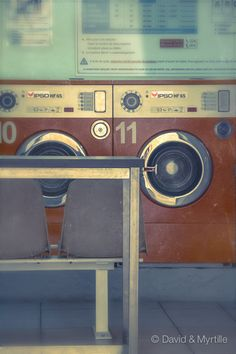 A Sunday Morning At The Laundromat