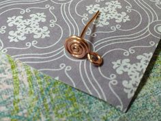 How to make a wire post from Rings and Things. #Wire #Jewelry #Tutorial