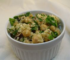 Fresh Spinach And Couscous Salad Feta Cheese Recipe - Food.com