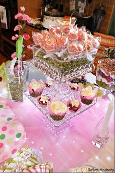 Cute baby shower, bridal shower, birthday, anytime party idea. Just change the chocolate or sprinkle colors.