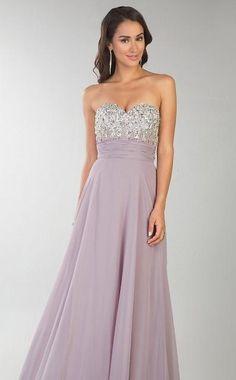 Embellished Lavender Sweetheart A-Line Sleeveless Floor Evening Dresses Sale kaladress13428