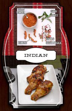 Spiced Chicken - Indian