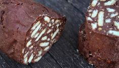 Chocolate Log, Chocolate Biscuits, Pastry Design, Greek Recipes, Stevia, Food To Make, Muffin, Food And Drink, Sweets