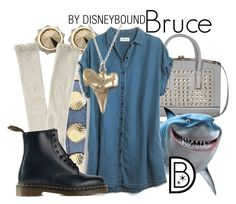 """Bruce"" by leslieakay ❤ liked on Polyvore featuring River Island, Balenciaga, Witchery, Aéropostale, Madewell, Dr. Martens and Reagan Charleston"