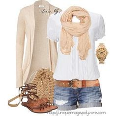 Like the colors and style of the shirt, scarf and jacket