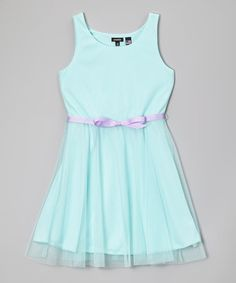 496f107003 Zunie   Pinky Mint   Lilac Tulle Skirt Dress - Girls