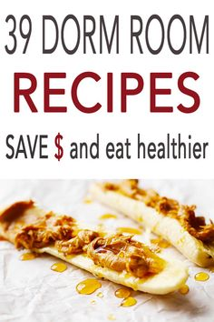 39 Healthy Recipes you can make in your Dorm Room using only a microwave, rice cooker and a crockpot. Eat healthy in college and save money. # Healthy Recipes for kids Healthy Recipes rice Dorm Room Cuisine Cookbook College Dorm Food, Dorm Room Food, Easy College Meals, College Cooking, Frugal Meals, College Recipes, College Grocery List, College Snacks, College Ready